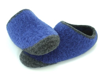 28d9ad6226263d Mens MADE TO ORDER felted wool slippers