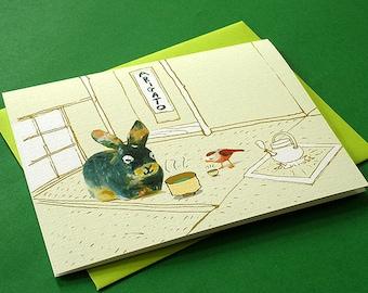 """Thank you card - """"Arigato"""""""