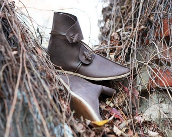 2a78e66988cab 14% DISCOUNT Medieval Wedding Shoes The Accolade   Etsy