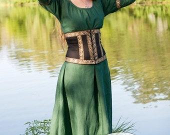 "Renaissance Corset Belt ""Forest Princess"""
