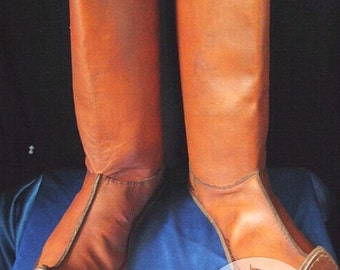"""High Boots """"Persian""""; Long Boots; Medieval Boots"""