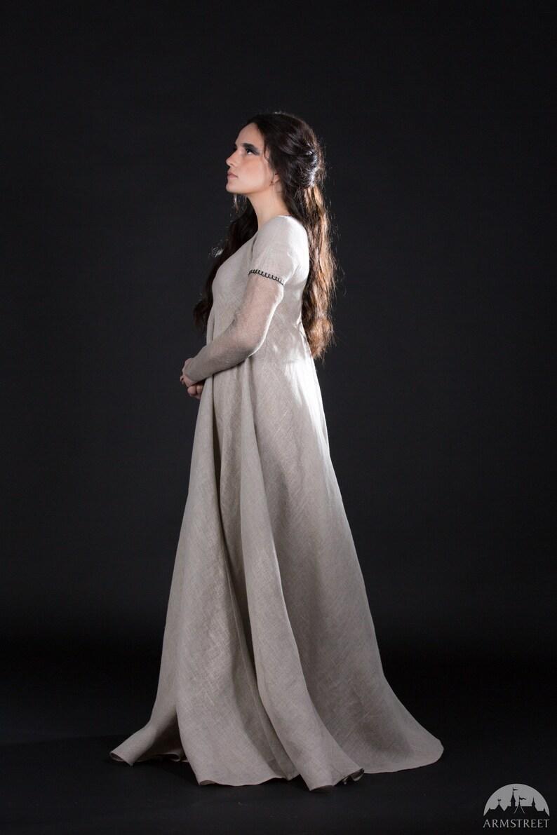 53f233f11e3 16% DISCOUNT Fantasy Dress Spiderweb flax dress
