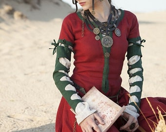 """Ready to ship! Steampunk Dress """"The Alchemists daughter""""; Medieval Dress"""