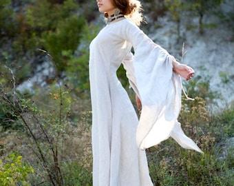 """Medieval Renaissance Linen Chemise """"Archeress"""""""