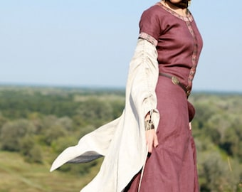 "Dress ""Archeress""; Medieval Dress; In Stock! Ready to Ship! Discounted Price! Fixed Sizes"