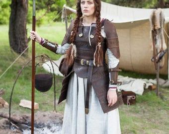"Medieval Women's Armor ""Shieldmaiden""; Viking Armor; Women's Armour"