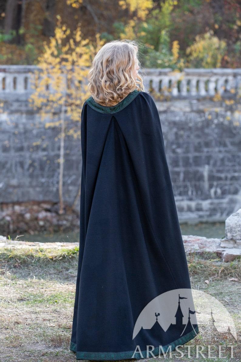10/% OFF Byzantine style woolen cloak \u201cAutumn Princes\u201d; Wool Cloak; Women/'s Cloak; Men/'s Cloak