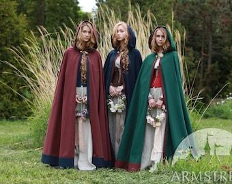 """Unisex cloak """"Secret Garden""""; Cotton Cloak; Women's Cloak; Men's Cloak"""