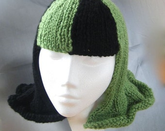 Halloween Hat Wig Knitting Pattern
