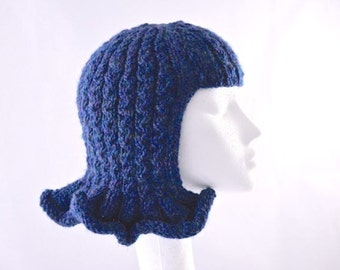 Pattern: Wavy Hat Wig, fun chemo cap, fancy dress or just for FUN!