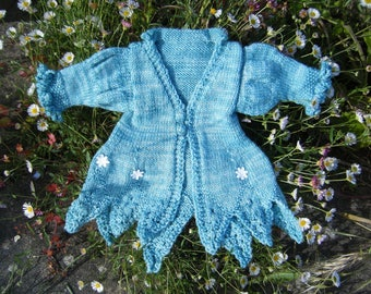 Fairy Jacket for a toddler. Knitting Pattern