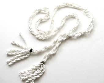 Medium Chain Rope Lariat Length 52cm By Zepter Chunky Gold Cabouchon Vintage Link Necklace