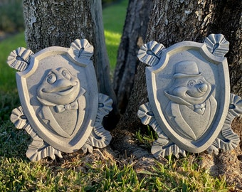 Mr. Toad's Wild Ride Toad Hall Replica Plaques
