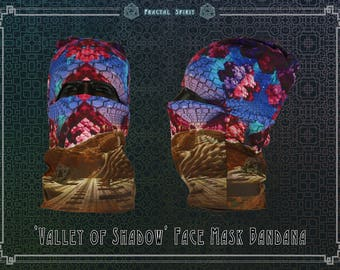Bandana - 'Valley of Shadow'  Seamless Face-mask