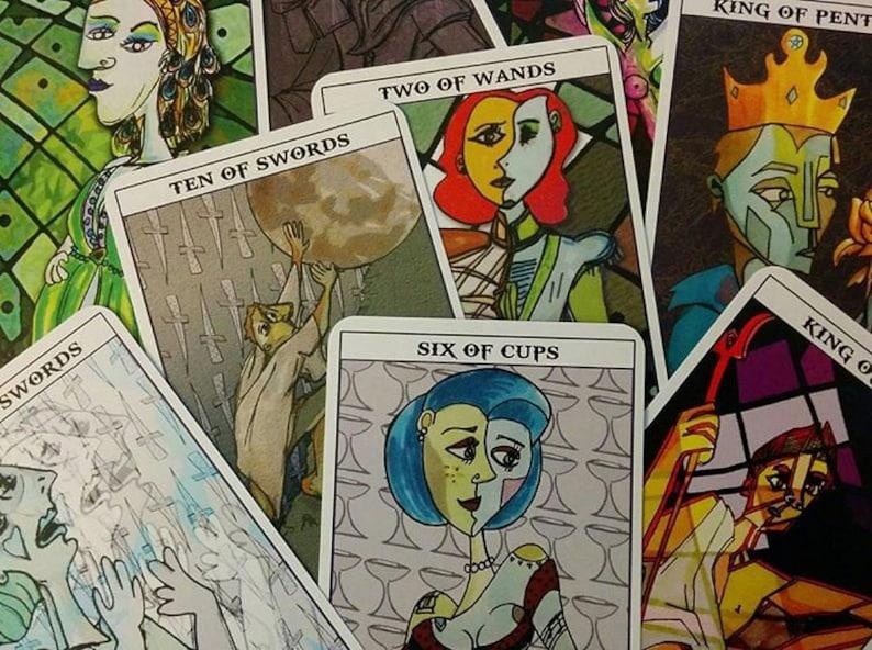 Greek Mythology Tarot Deck tarot cards cubism-inspired image 0