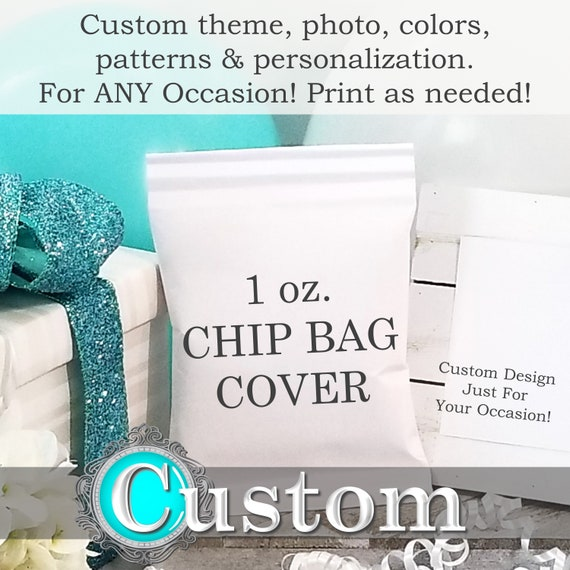 graphic about Printable Chip Bags named Tailor made Chip Luggage, Printable Chip Luggage, Custom made Chip