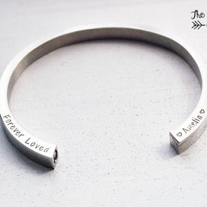 Pet Sympathy Gift In Loving Memory Cremation Jewelry Urn Memorial Bracelet Remembrance Gift