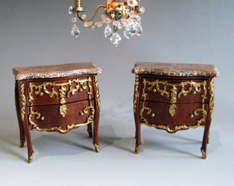 Architectural & Garden Pair Of Mahogany Inlaid Panels And Digestion Helping Antiques