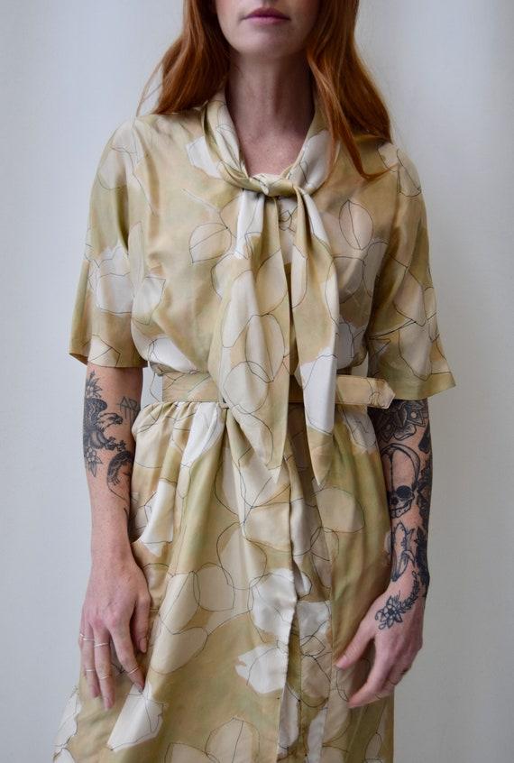 Vintage 1960s Norman Wiatt Sheath Dress   60s Mut… - image 2
