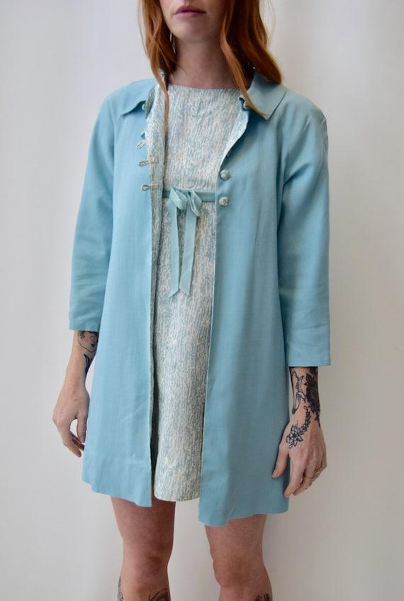 Vintage 1960s Sheath Dress and Jacket Set - image 1