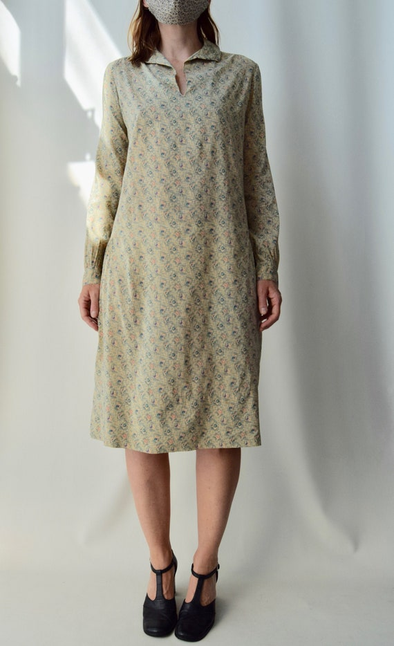 Vintage 1930's Long Sleeve Day Dress