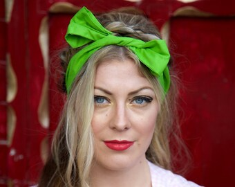 Lime Green Headband