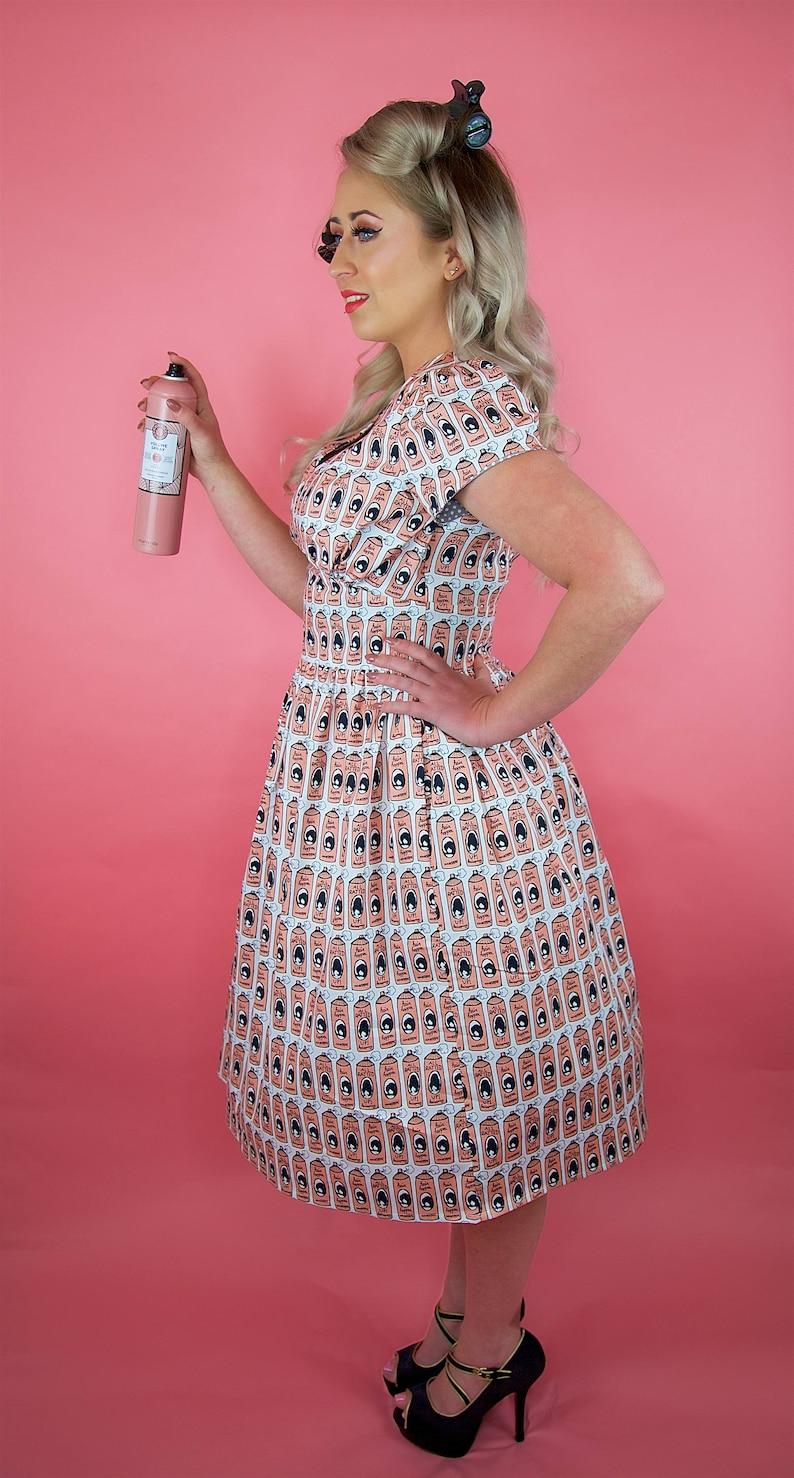 42462b84fed3 Abito vintage Pin Up Dress Pin Up Girl del 1950 vestito