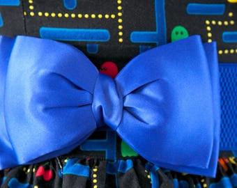 Royal Blue Bow Belt
