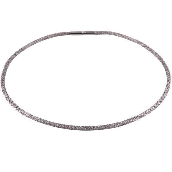 Nuevo 925 Sterling plata creolen plegable aretes pendiente 7mm-13mm