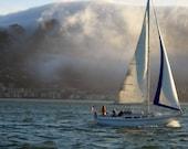 Sailing Photograph Fog Ca...