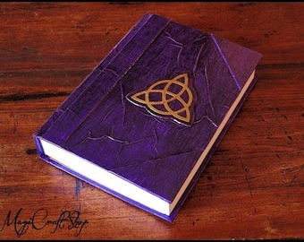 Book of Shadows Triquetra Different colors - medium size A5 22x16 cm wicca pagan magic diary