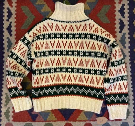 Handmade wool sweater