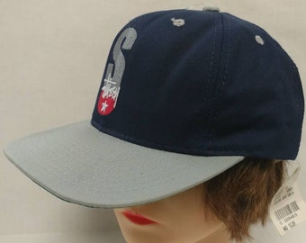 5eaf6cebe1cb5 Vtg 90s Deadstock STUSSY hat with tags made in the USA