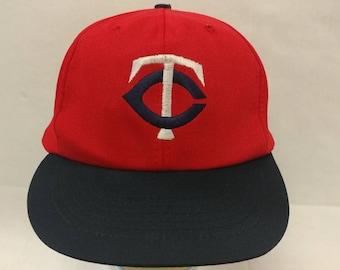 on sale 89833 4c02e Vtg Deadstock 70s 80s Minnesota Twins hat Snapback cap JCPenney hat RARE  COLORS