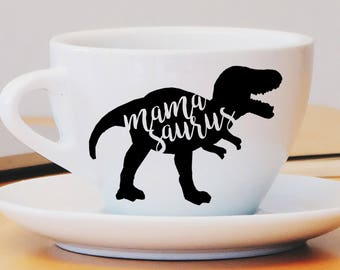 Mamasaurus Decal, Mom Decal, Mamasaurus Car Decal, Mamasaurus Mug Decal, Mamasaurus Laptop Decal, Dinosaur, Mom Gift, Wine Glass Decal, Mom