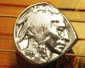 Antique Coin Guitar Pick Mandolin Pick USA Indian Head Buffalo Nickel Made in Nashville Free Worldwide Shipping