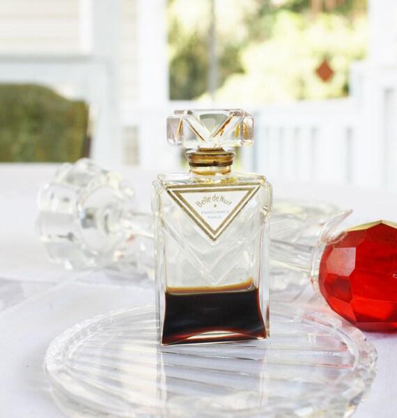 Rare 1940s Belle De Nuit By Fragonard Perfume Made In France Etsy
