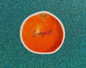 No Doubt Tragic Kingdom Vinyl Sunpist Sticker Outdoor Safe Car, Laptop, & More No Doubt Band Collectible Orange County California