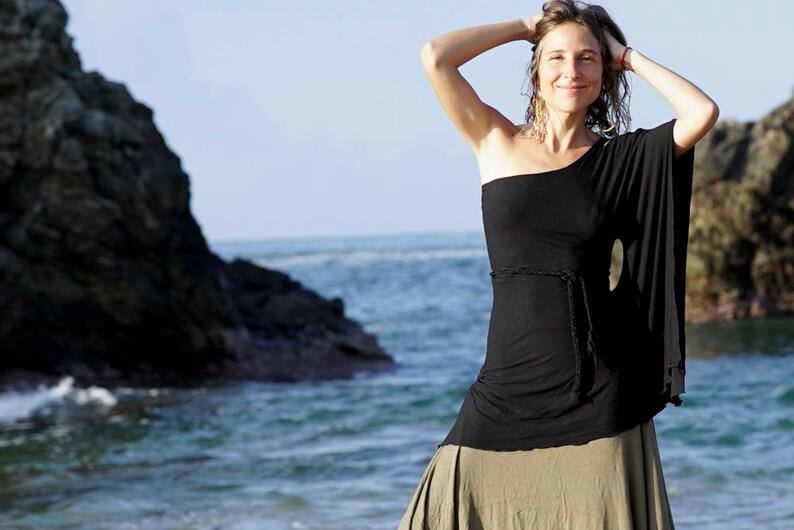 2174c906661 OFF THE SHOULDER Yemaya Sexy Kleid schwarzes Kleid