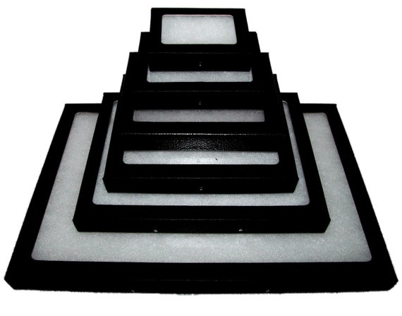 ONE RIKER MOUNT DISPLAY CASE FRAME SHADOW BOX 4.25in X 3.25in X .75in R-1