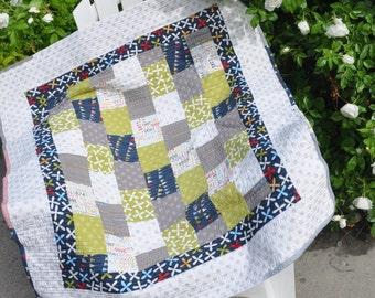Baby Bricks Quilt Pattern