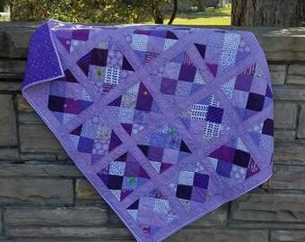 Color Blast Quilt Pattern