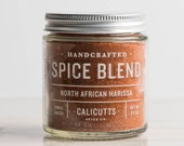 North African Harissa - Handcrafted Spice Blend - 2.3 ounces in Glass Jar, All-Natural and Gluten Free