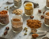 Set of 6 Handcrafted Spice Blends (Your Choice), All-Natural and Gluten-Free