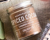 Cinnamon Cayenne Spiced Cocoa Mix - 7 oz. Small Batch Handcrafted, All Natural, and Gluten-Free