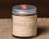 Ginger - Handcrafted Ground Spice - 1.8 ounces in Glass Jar, All-Natural and Gluten Free