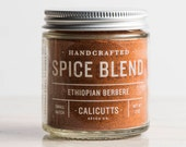 Ethiopian Berbere - Handcrafted Spice Blend - 2.0 ounces in Glass Jar, All-Natural and Gluten Free