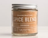 Caribbean - Handcrafted Spice Blend - 2.7 ounces in Glass Jar, All-Natural and Gluten Free