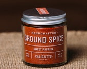Sweet Paprika - Handcrafted Ground Spice - 2.5 ounces in Glass Jar, All-Natural and Gluten Free