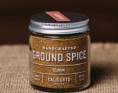 Cumin - Handcrafted Ground Spice - 2.3 ounces in Glass Jar, All-Natural and Gluten Free